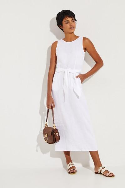 Leinenkleid 'Sibilla' Weiß