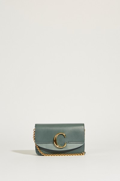 Shoulder bag 'Chloé C Mini' Cloudy Blue
