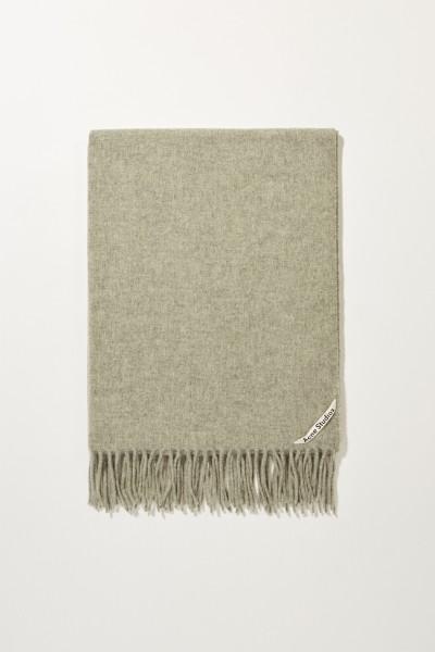 4139a2a5 Classic Woolen Scarf 'Canada New' Grey Acne ...