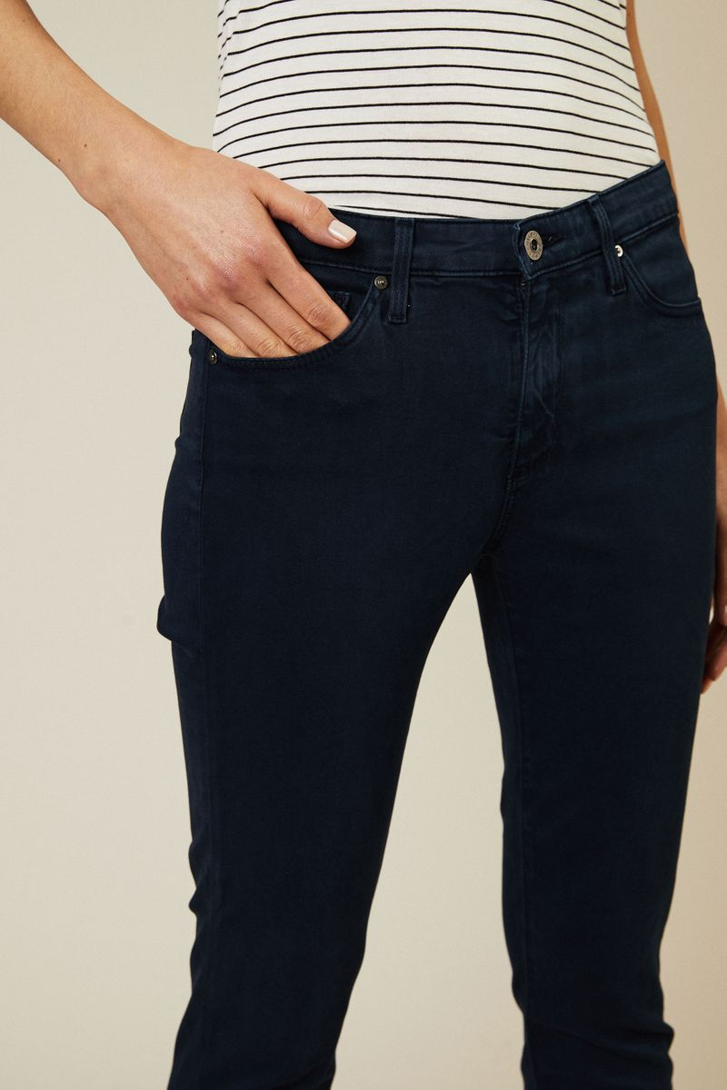 Cigarette Leg Jeans 'The Prima Cropped' Marineblau