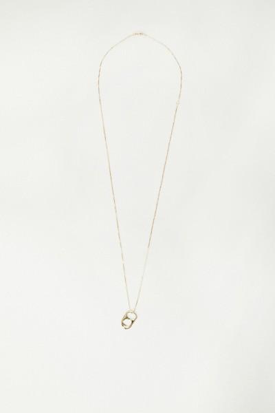 Kette 'Wish Necklace' mit Anhänger Gold