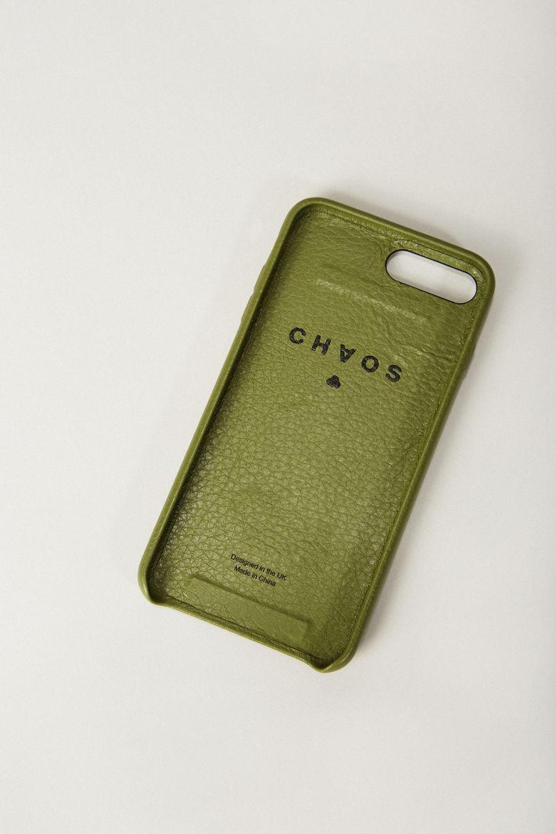 Iphone 7/8+ Case 'Hand Hug' Khaki