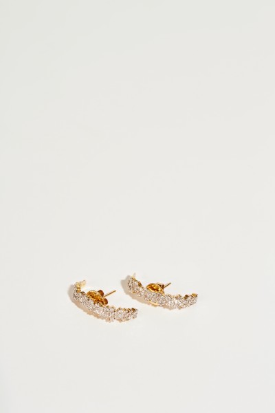 Ana Khouri Earring 'Mirian' with diamonds Gold