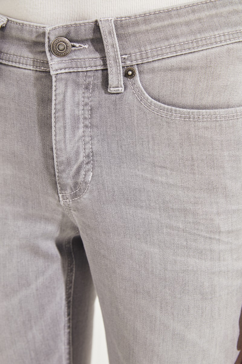 Jeans 'Parla' Grau