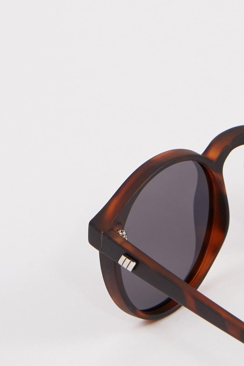 Le Specs Polarisierende Sonnenbrille 'Teen Spirit Deux' Braun