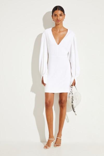 8b89ec5db66 Stella McCartney Kurzes Kleid mit V-Neck Weiß 1.110