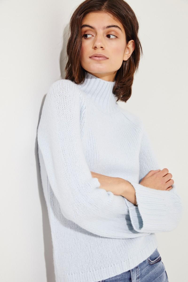 Cashmere Pullover Blau
