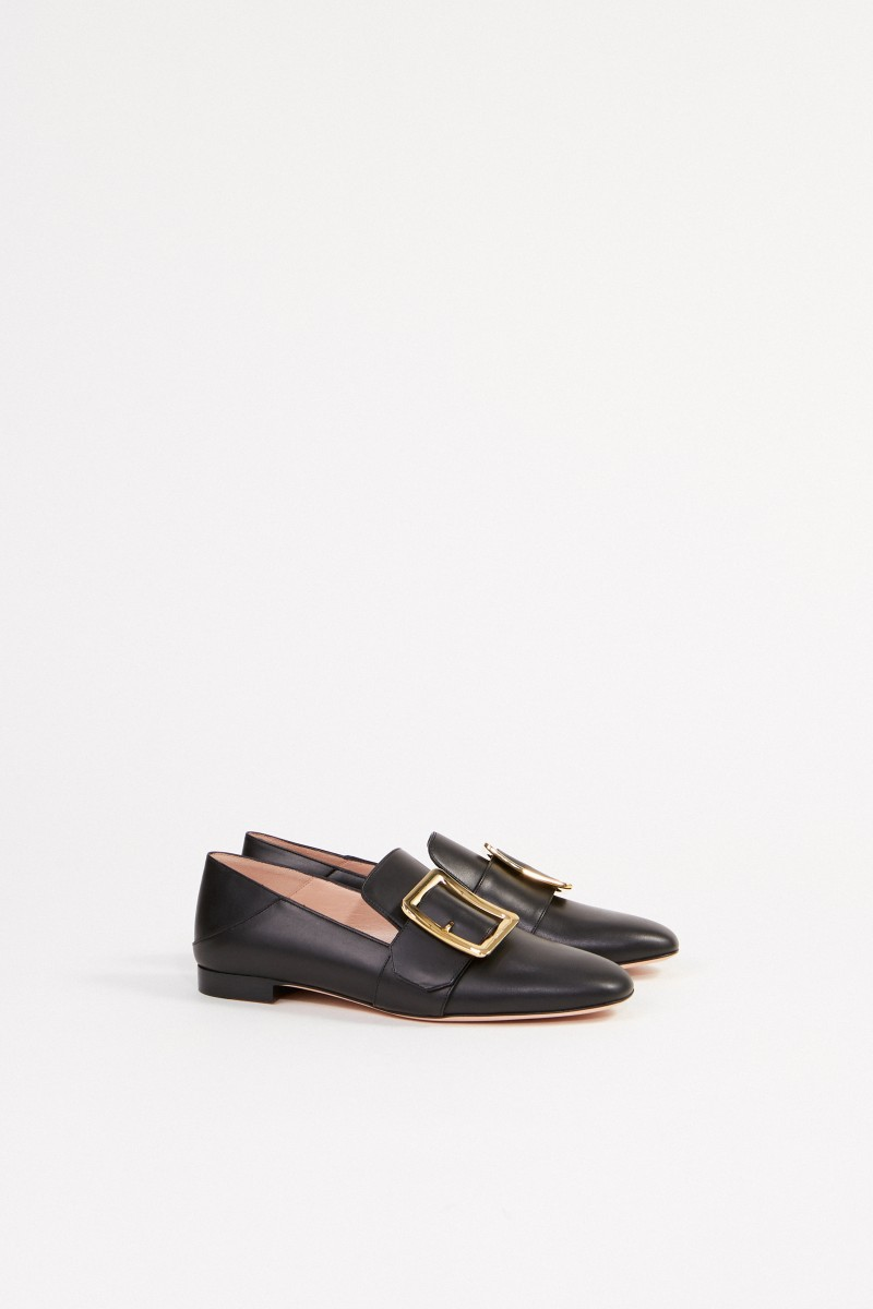 Bally Leatherloafer 'Janelle' Black