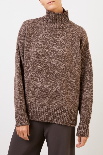 The Row Cashmere turtleneck pullover 'Pheliana' Brown