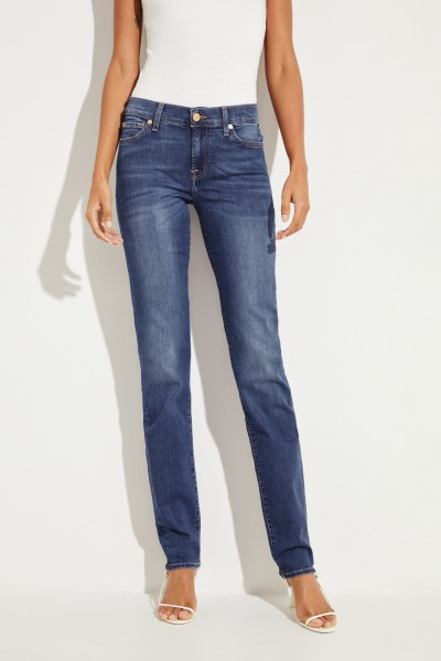 Midrise-Jeans 'Roxanne' Blau