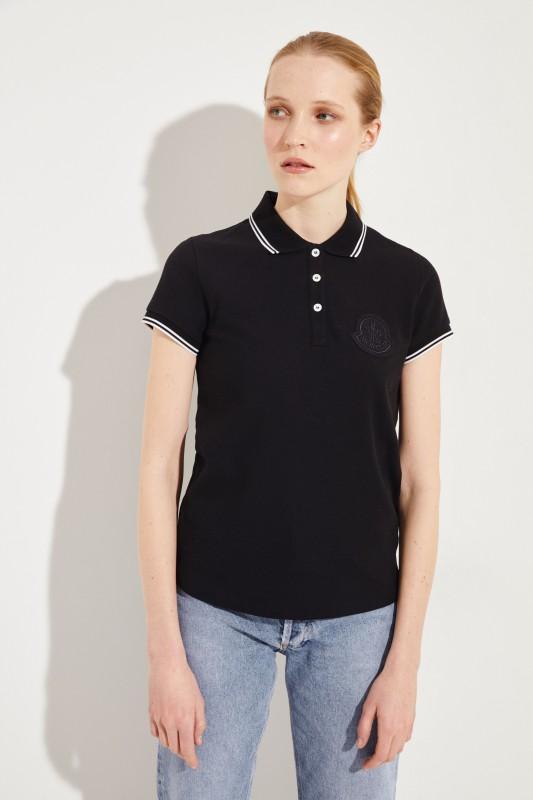 Polo-Shirt Schwarz