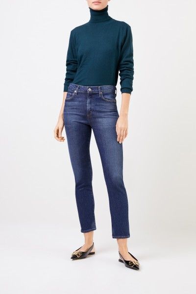 Citizens of Humanity Skinny Jeans 'Harlow' Blau