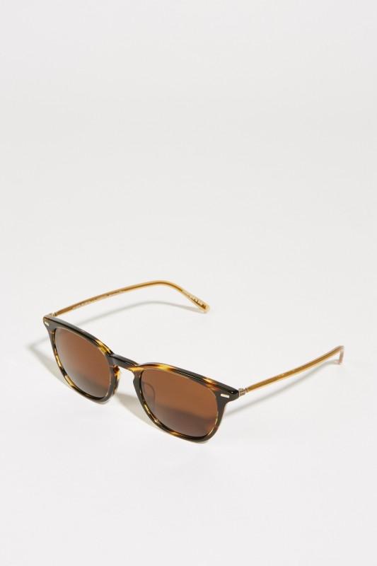 Oliver Peoples Sonnenbrille 'Heaton' Braun