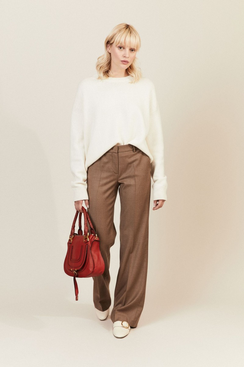 Cashmere-Woll-Hose 'Rooney' Nuss