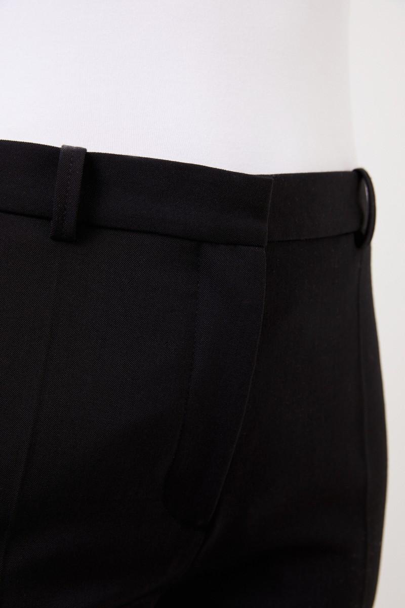 Joseph Classic pleated trousers black