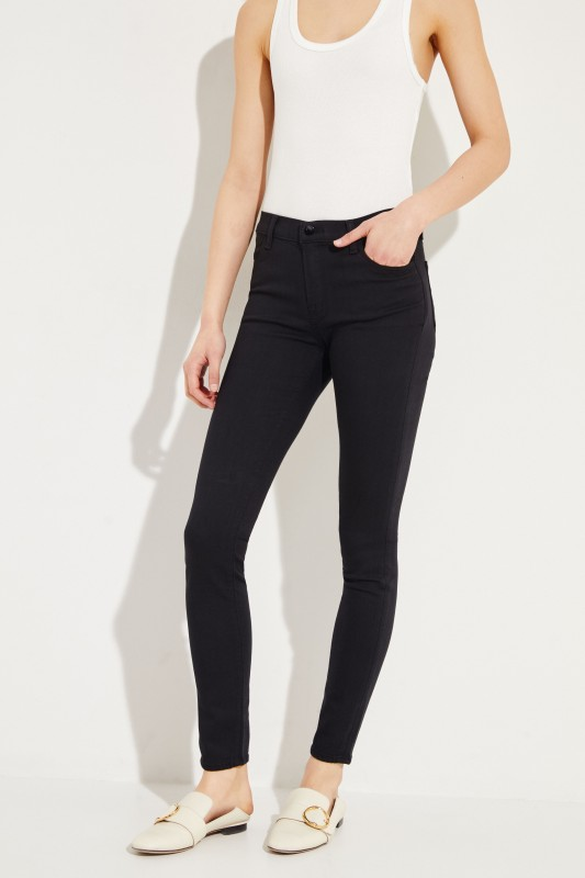 Super Skinny-Jeans Schwarz