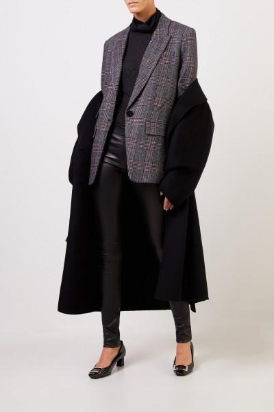 Veronica Beard Blazer with Glencheck Grey/Multi