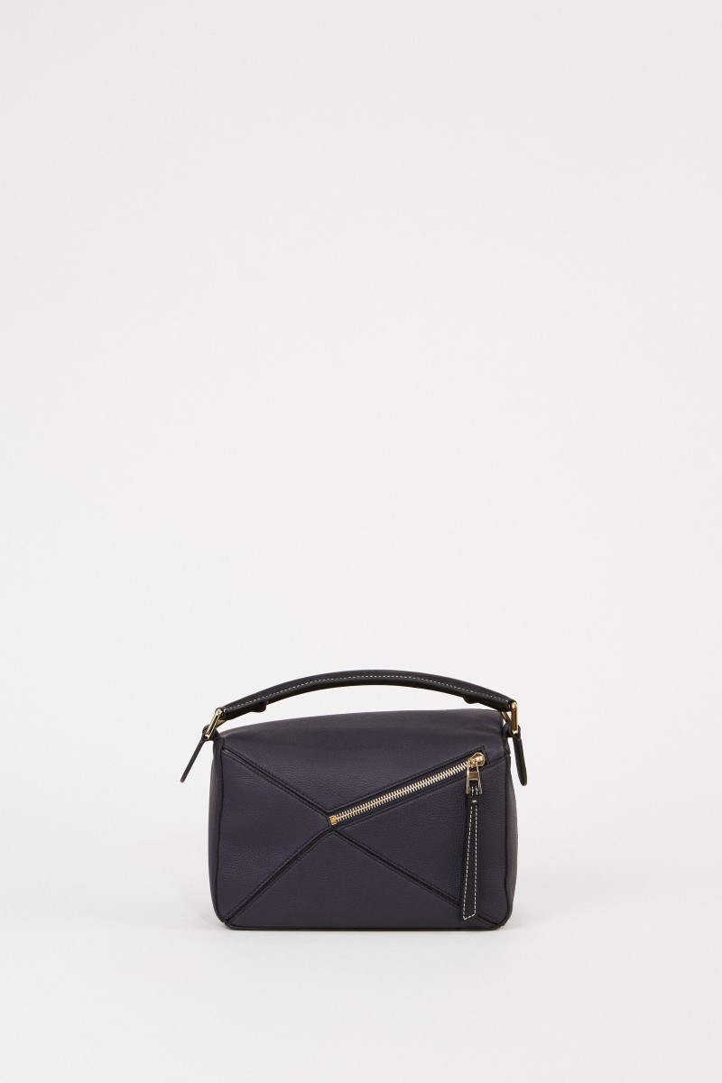 Tasche 'Puzzle Bag Small' Midnight Blue/Black