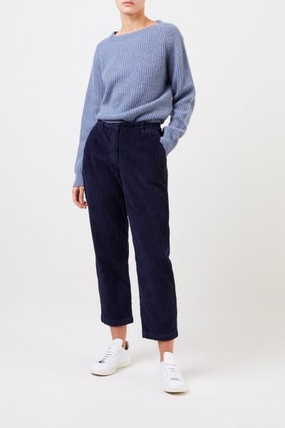 Woolrich Klassische Cord-Hose Blau