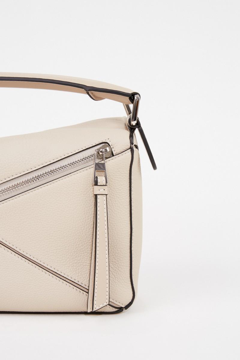 Loewe Bag 'Puzzle Bag Small' Beige