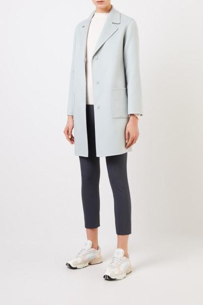 Classic cashmere coat Light Mint
