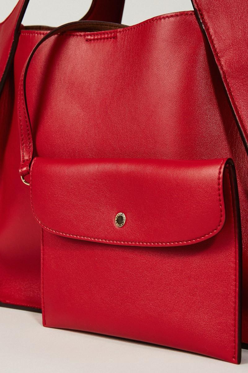 Shopper mit Stella-Logo 'Crossbody Logo Bag' Rot