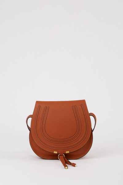 Shoulder bag 'Marcie Saddle Large' Nut