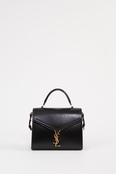Leather bag 'Nolita S' Black/Bordeaux