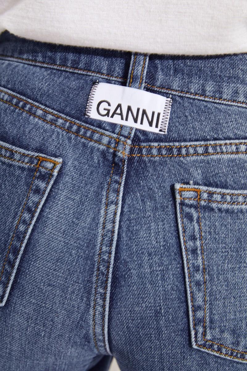 Jeans 'Classic Denim' mit Schlitzen Blau