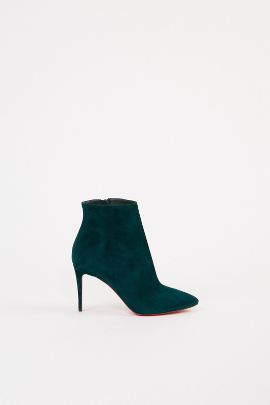 best service cd70a 14808 Suede leather ankle boot 'Eloise Booty' Green