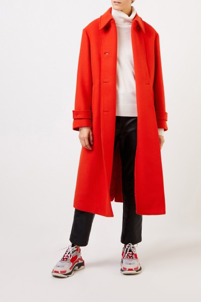 Stella McCartney Woll-Mantel Gipsy Rot