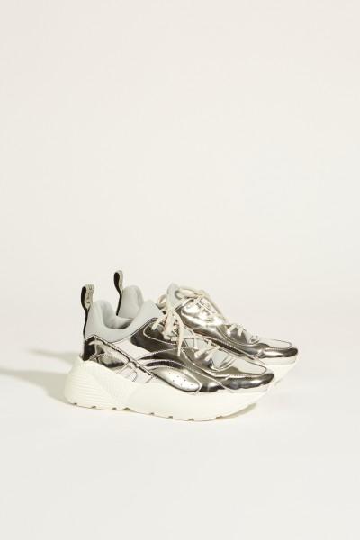 Sneaker 'Eclypse' Metallic-Silver