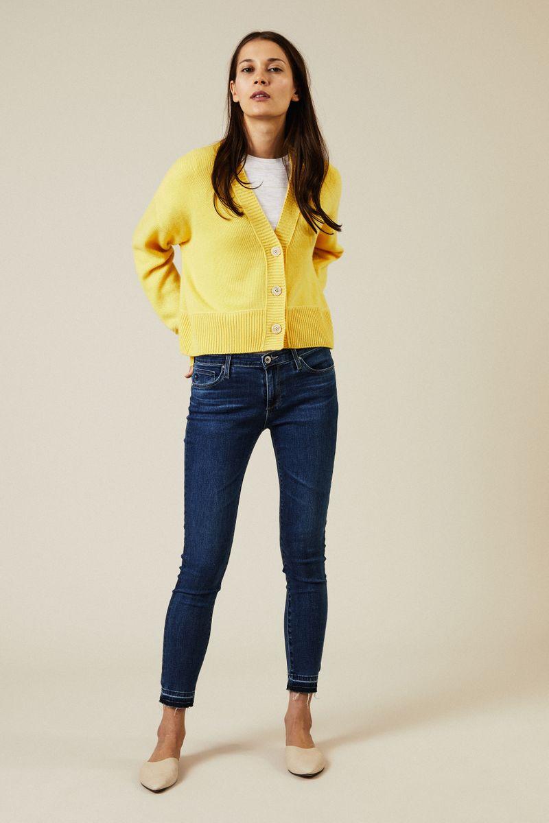 Super-Skinny-Jeans 'The Legging Ankle' Dunkelblau