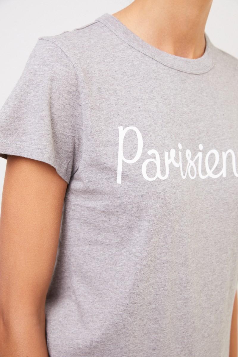 T-Shirt 'Parisienne' Hellgrau