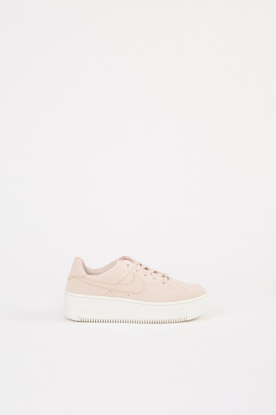 Plateau-Sneaker 'Air Force 1' Beige