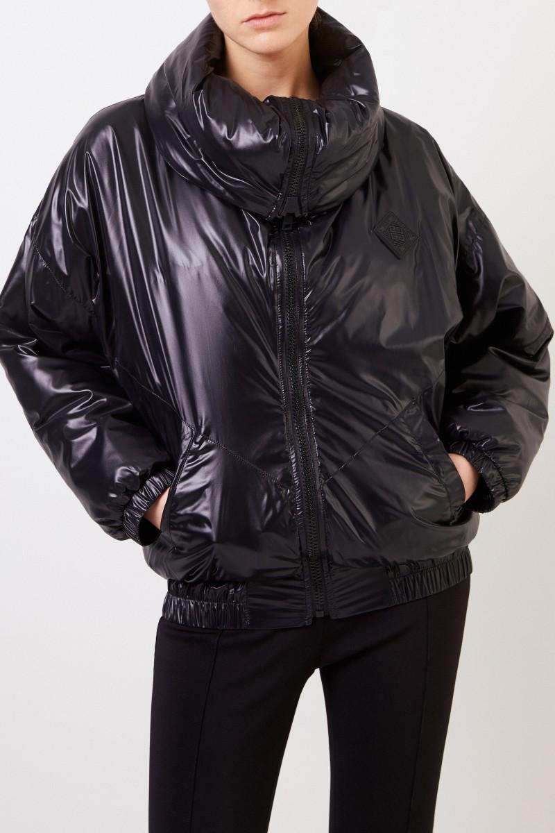 Givenchy Oversize Jacke mit Kragen schwarz
