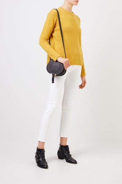 Cashmere sweater 'Cielo' Yellow