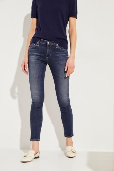 Skinny-Jeans 'The Legging Ankle' Blau