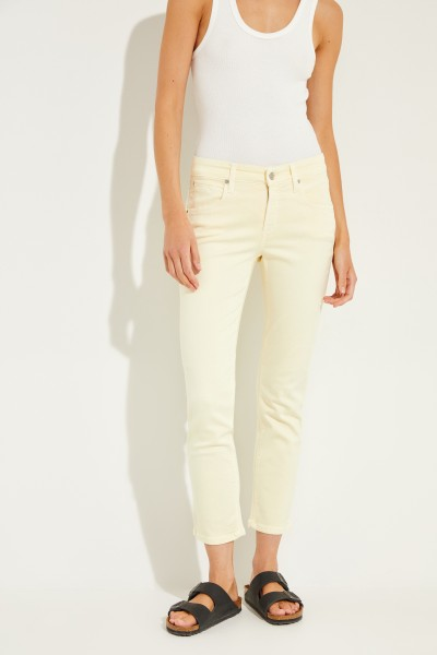 Jeans 'Pina' Gelb