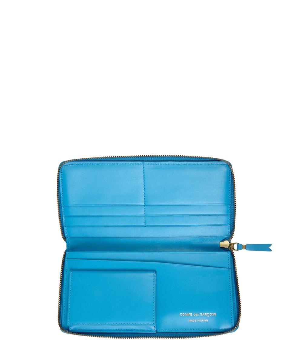 Großes Portemonnaie Blau