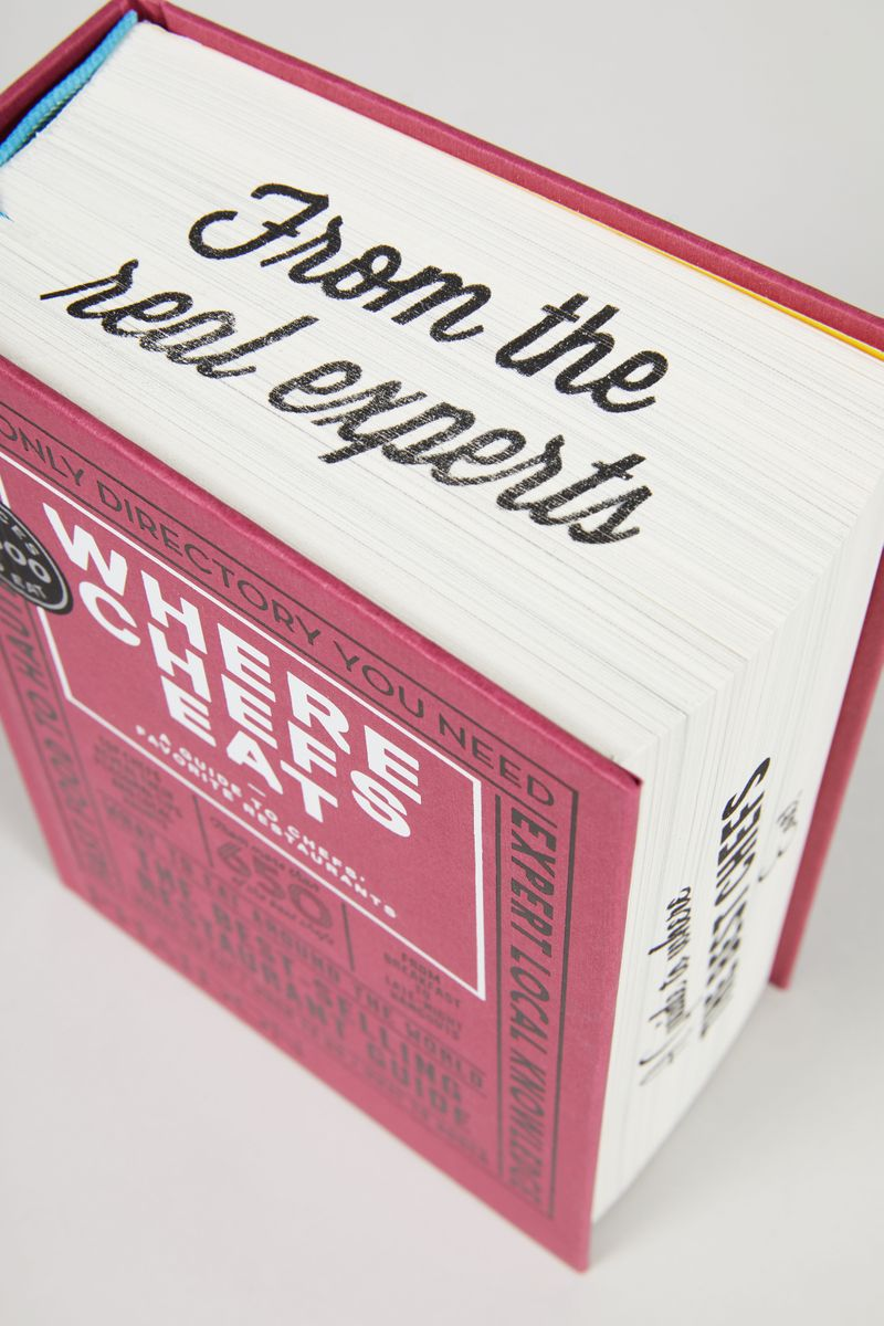 Buch 'Where Chefs Eat'