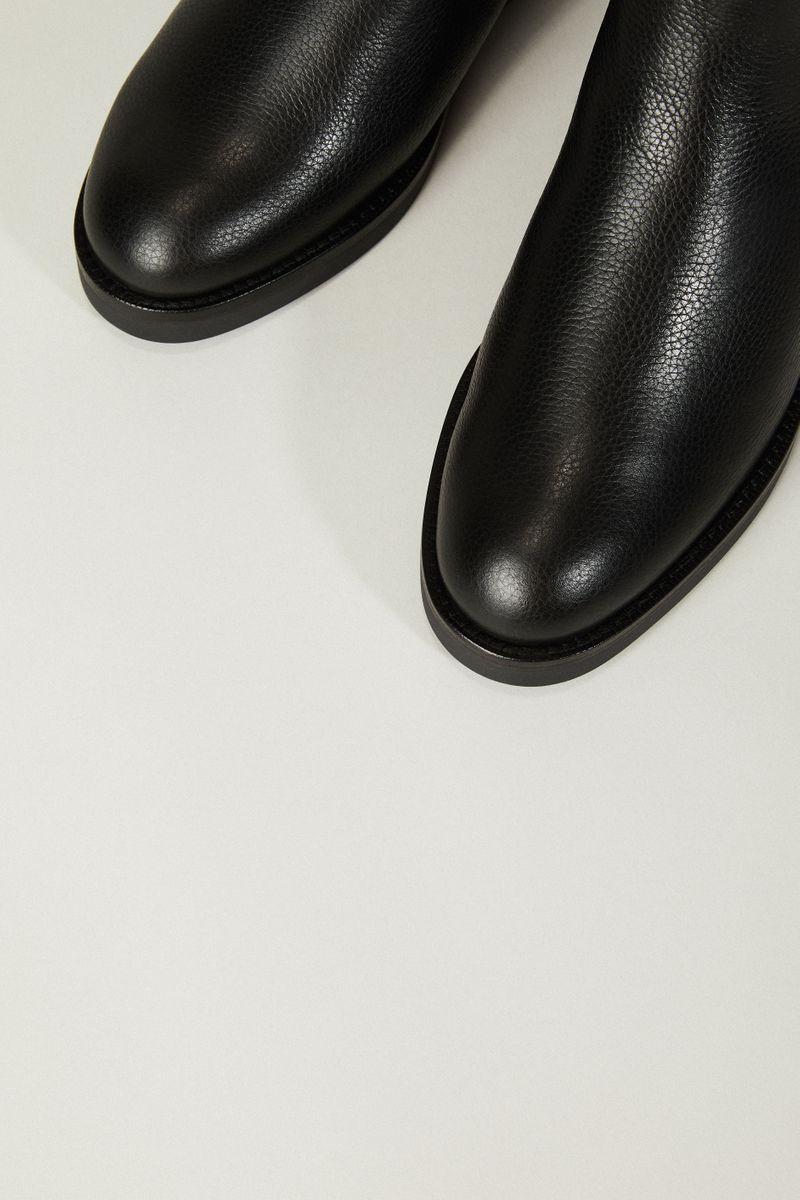 Stiefelette 'Zelinda Fur 100' Schwarz