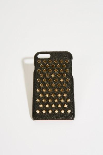IPhone Case 7/8 mit Nietendetails Schwarz