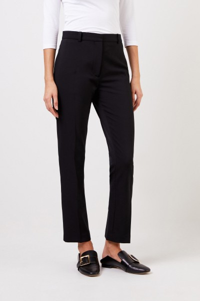 Joseph Classic pleated trousers black