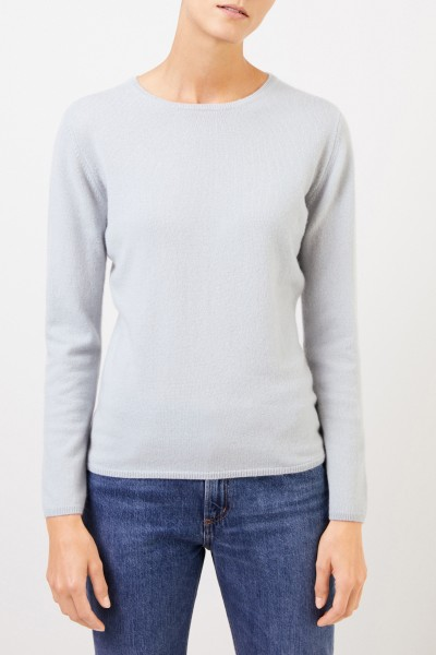 Uzwei Cashmere sweater with r-neck Sea Green