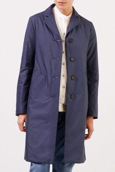 Aspesi Classic short coat Blue