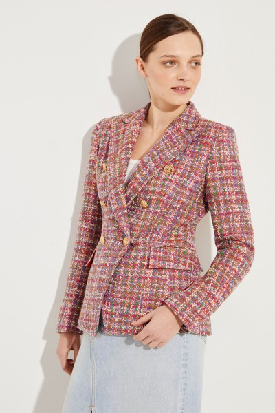 Tweed-Blazer 'Khlo' Multi