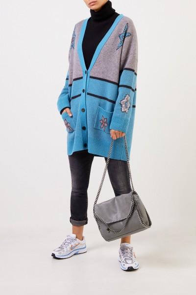 Stella McCartney Shoulder Bag 'Big Shoulder Falabella' Grey