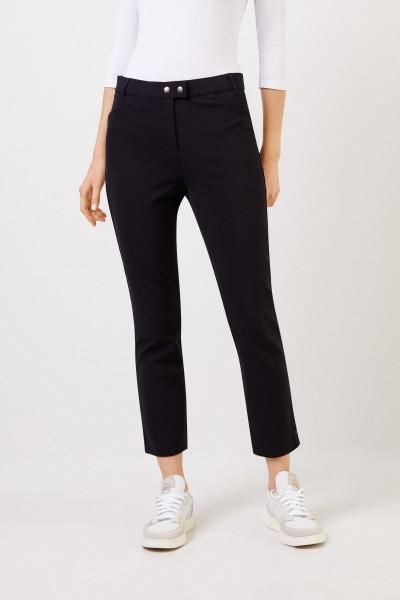 Seductive Trousers 'Franziska' with rib Black