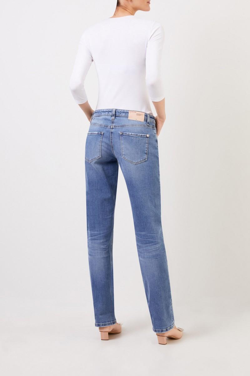 Cambio Jeans 'Loana' mit Waschung Hellblau